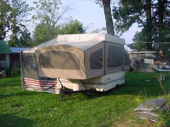 1987 Coleman Sun Valley Popup Camper